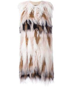 Giambattista Valli | Меховое Пальто Без Рукавов