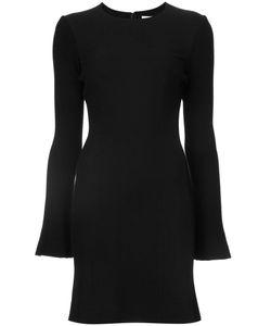 Derek Lam 10 Crosby   Fitted Long-Sleeve Dress