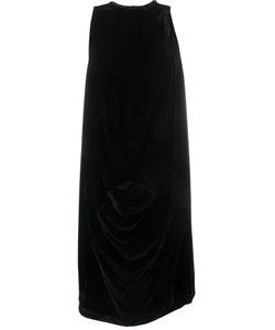 Rick Owens | Бархатное Платье С Драпировками