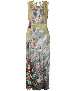 Alberta Ferretti | Вечернее Платье С Цветочным Принтом