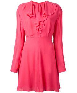 GIAMBA | Приталенное Платье С Оборками
