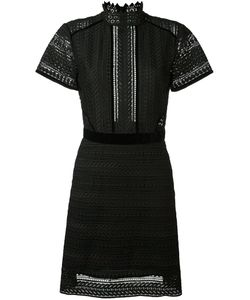 Perseverance London | Cable Lace Midi Dress