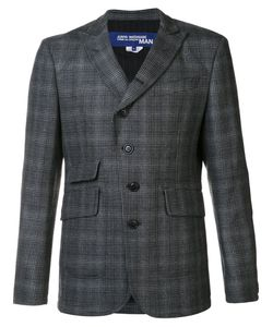 JUNYA WATANABE COMME DES GARCONS | Peaked Lapel Checked Blazer