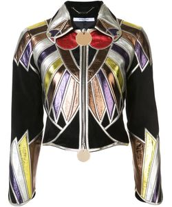 Givenchy | Zipped Patchwork Cropped Jacket