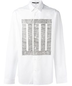 Mcq Alexander Mcqueen | Block Thread Print Shirt