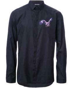 Neil Barrett | Рубашка С Нашивкой В Виде Орла