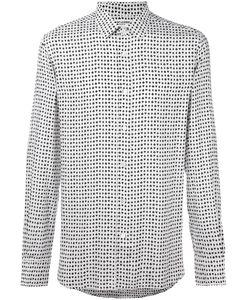 Saint Laurent | Рубашка С Принтом Мастей Карт