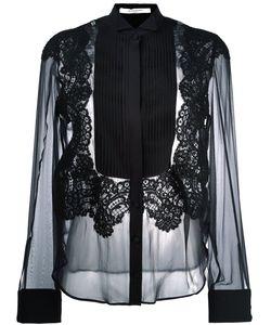 Givenchy | Полупрозрачная Рубашка С Плиссированной Манишкой
