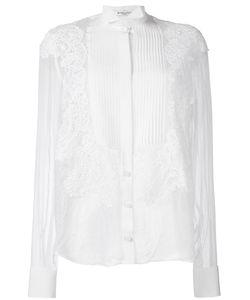 Givenchy | Рубашка С Кружевной Аппликацией