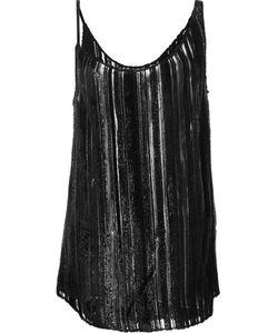 JONATHAN COHEN | Asymmetrical Stripe Detail Camisole