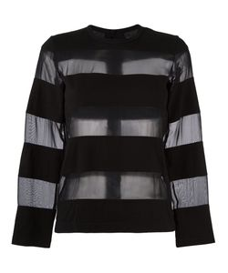 Comme Des Garcons | Comme Des Garçons Vintage Sheer Stripe Jumper