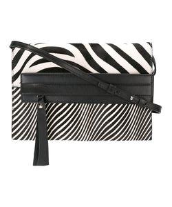 Elena Ghisellini | Zebra Print Shoulder Bag