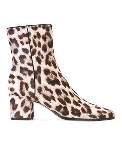 Alexandre Birman | Leopard Pattern Ankle Boots