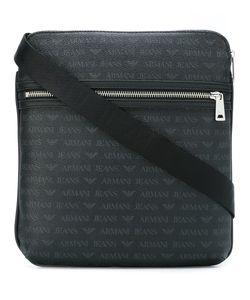 ARMANI JEANS   Double Zipped Shoulder Bag
