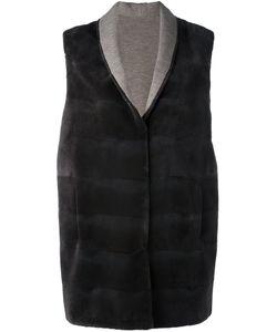 Manzoni 24   Mink Fur Sleeveless Coat