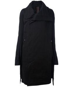 RICK OWENS DRKSHDW   Wide Collar Coat