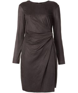 Josie Natori | Asymmetric Draped Dress