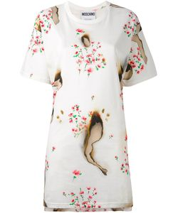 Moschino | Burned Effect T-Shirt Dress