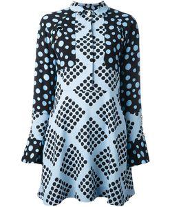 House Of Holland | Платье-Рубашка С Узором