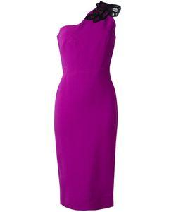 Victoria Beckham | Платье Длины Миди На Одно Плечо