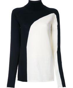 Irene | Двухцветный Пуловер Intersia