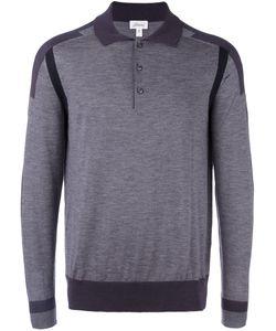 Brioni | Рубашка-Поло С Полосами На Рукавах
