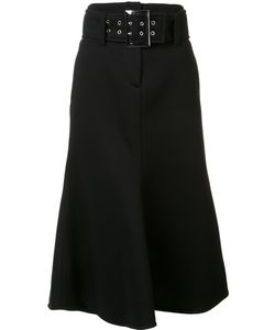 Beaufille | Oversized Buckle A-Line Skirt