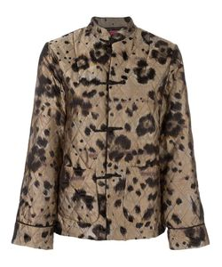 FOR RESTLESS SLEEPERS | Leopard Print Quilted Suit