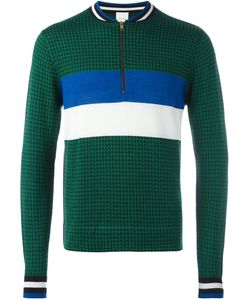 Paul Smith | Puppytooth Zip Neck Sweater