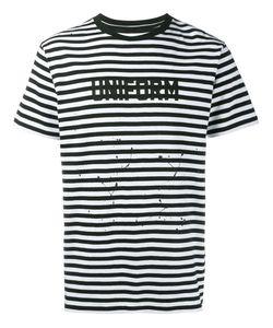 UNIFORM EXPERIMENT | Striped T-Shirt