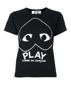 Comme des Gar ons Play | Футболка С Принтом-Логотипом