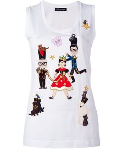 Dolce & Gabbana | Designers Fairytale Patch Tank Top