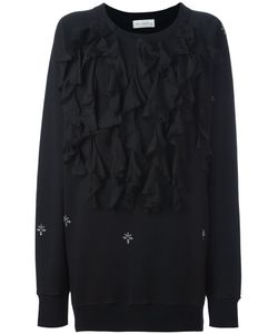 Faith Connexion   Ruffled Oversized Sweatshirt