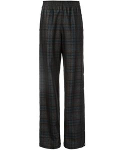 Maison Margiela | Checked Straight Leg Trousers