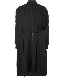 Yohji Yamamoto | Zip Up Asymmetric Coat