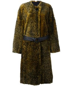 Petar Petrov | Animal Print Shearling Coat