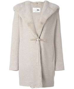 Manzoni 24 | Mink Fur Collar Hooded Coat