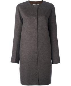 Manzoni 24   Single Breasted Midi Coat
