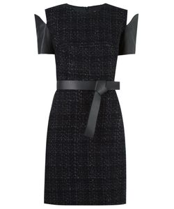 GLORIA COELHO | Panelled Tweed Dress