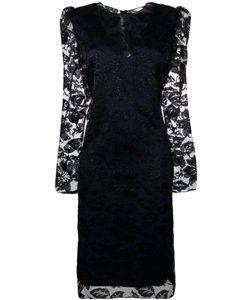 Lanvin | Кружевное Платье С Цветочным Узором