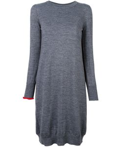 Erika Cavallini | Contrast Sleeve Knitted Dress