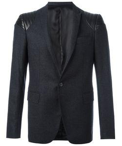 Les Hommes | Quilted Shoulder Blazer