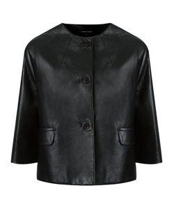 GLORIA COELHO | Leather Jacket