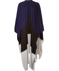 Victor Alfaro | Colour Block Knit Cape