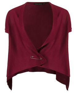 GLORIA COELHO   Knit Waistcoat