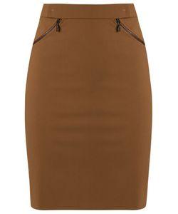 GLORIA COELHO | High-Waisted Skirt