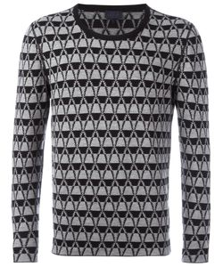 Lanvin | Striped Cross Chevron Jumper