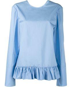 Marni | Long Sleeve Ruffle Shirt