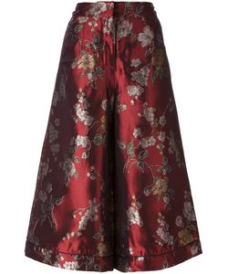 FOR RESTLESS SLEEPERS | Print Cropped Palazzo Pants