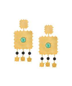 PAULA MENDOZA | Square Earrings